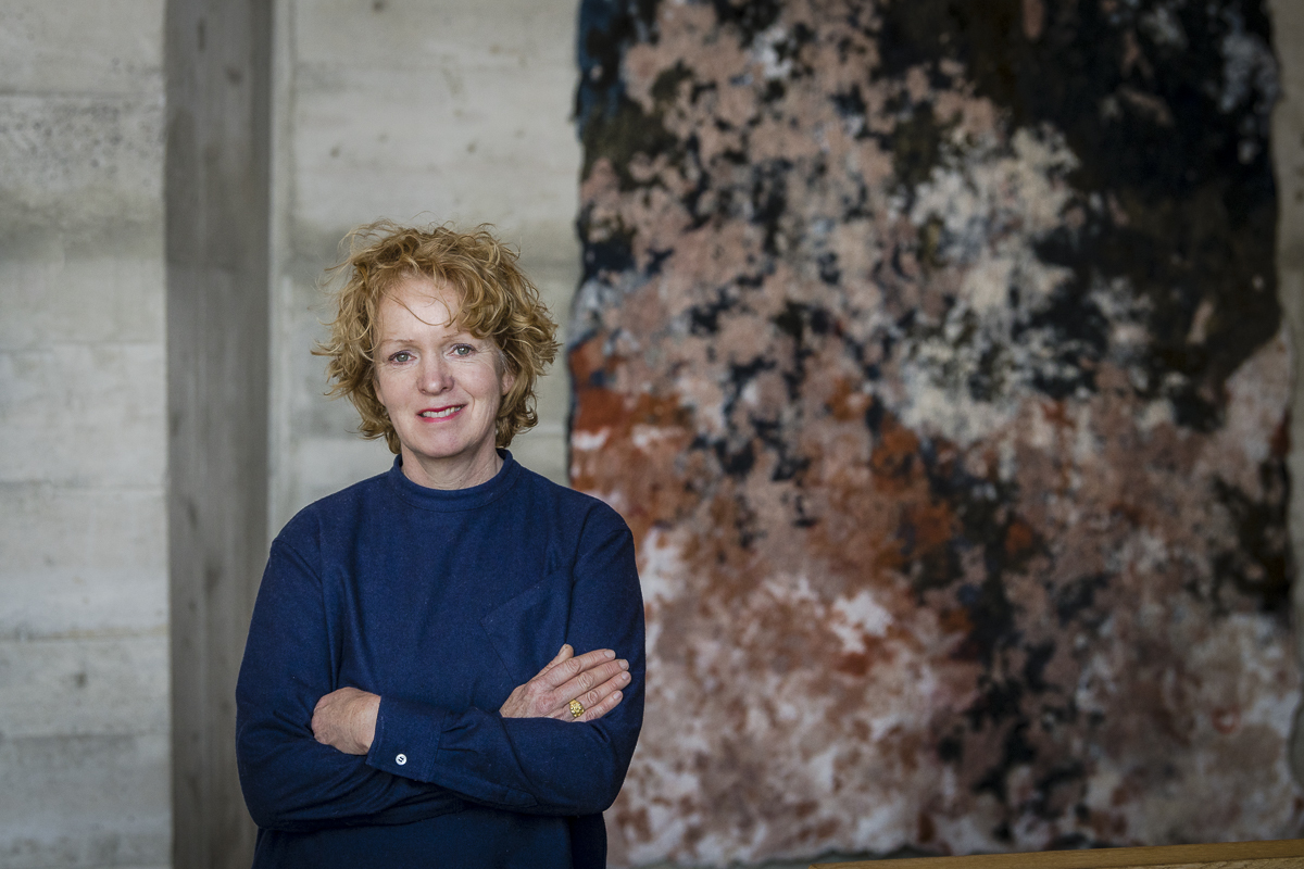 Claudy Jongstra portrait by Christian Jaeggi, 2020